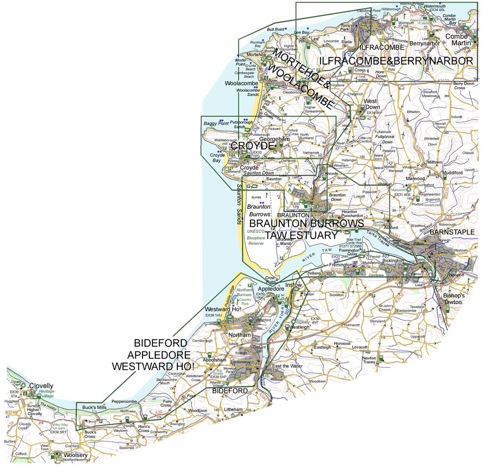 Croydecycle walking maps 1:12500